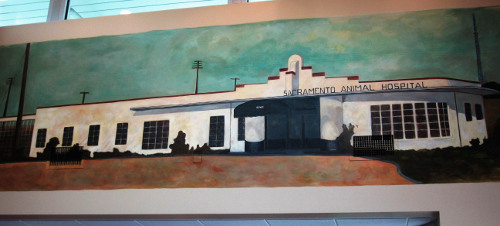 Painting of our old Hospital